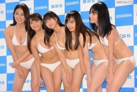 White bikinis of the award-winning goddesses of Miss Magazine 2018001