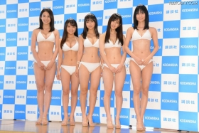 White bikinis of the award-winning goddesses of Miss Magazine 2018003