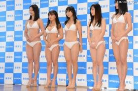 White bikinis of the award-winning goddesses of Miss Magazine 2018017
