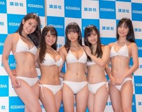 White bikinis of the award-winning goddesses of Miss Magazine 2018039