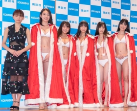 White bikinis of the award-winning goddesses of Miss Magazine 2018041