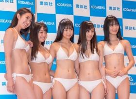 White bikinis of the award-winning goddesses of Miss Magazine 2018054