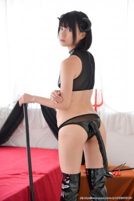 Tsubasa Hazuki Swimsuit Gravure Cosplay Devil Devil Small Devil Bikini010