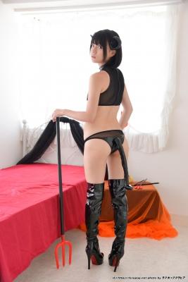 Tsubasa Hazuki Swimsuit Gravure Cosplay Devil Devil Small Devil Bikini009