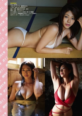 Minami Wachi swimsuit gravure 26 years old Hcup big tits lifted 2021005