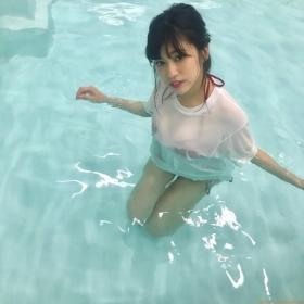 Reimi Osawa Gravure Swimsuit Bikini Image126