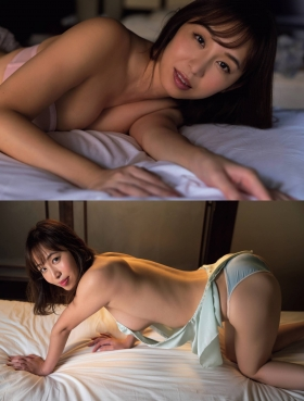 Misumi Shiochi underwear images Japans sexiest announcer shows off her soothing bountiful body 2021006