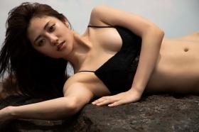Kazusa Okuyama swimsuit gravure030