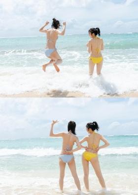 Pyxis Moe Toyoda Mirai Ito W Swimsuit Gravure003