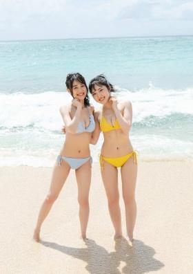 Pyxis Moe Toyoda Mirai Ito W Swimsuit Gravure004