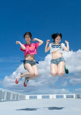 Pyxis Moe Toyoda Mirai Ito W Swimsuit Gravure009
