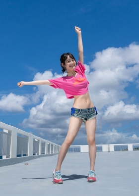 Pyxis Moe Toyoda Mirai Ito W Swimsuit Gravure011