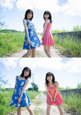 Pyxis Moe Toyoda Mirai Ito W Swimsuit Gravure018