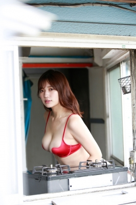 Seyama Shiro swimsuit gravure Miraculous body that appeared in harmony 2021006