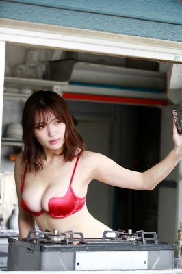 Seyama Shiro swimsuit gravure Miraculous body that appeared in harmony 2021007