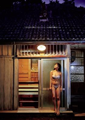 Haruna Yoshizawa swimsuit gravure 002
