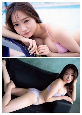 Aoi Haru Swimsuit Gravure Warmth of spring a step early Haru came 2021002