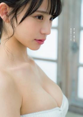 NMB48 Kaiyu Wada swimsuit gravure new generation ace pure white virgin 2021005