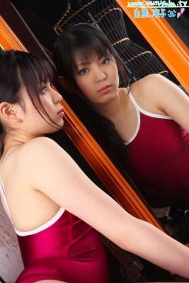 Ryoko Shirakuma Red School Swimsuit021