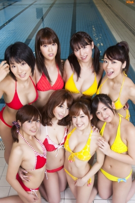 Idol Swim Meet Gravure Swimsuit Images009