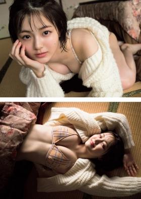 Aika Sonoda Swimsuit Gravure The glitter of an 18year old born in the 21st century 2021004