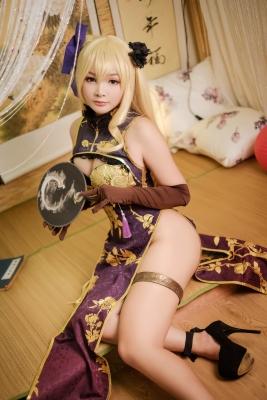 Cosplay Swimsuit Style Costume JinLian Tony Taka OC China Dress012