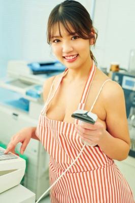 Aoi Fujino Swimsuit Beach Bikini Convenience Store Worker 2021001