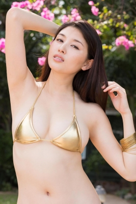 Manami Hashimoto swimsuit bikini gravure006