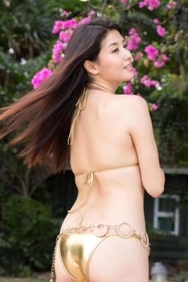 Manami Hashimoto swimsuit bikini gravure015