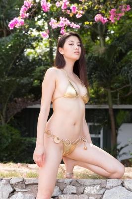 Manami Hashimoto swimsuit bikini gravure022