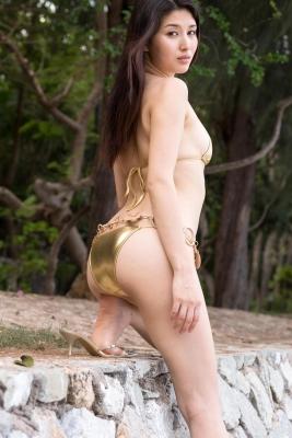 Manami Hashimoto swimsuit bikini gravure036