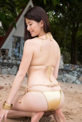 Manami Hashimoto swimsuit bikini gravure082