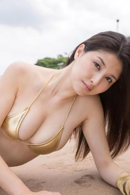 Manami Hashimoto swimsuit bikini gravure099