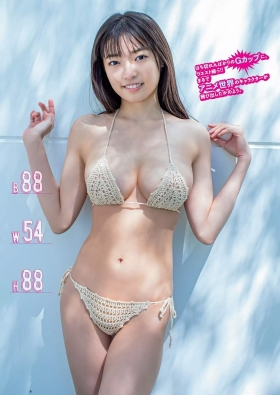 Aine Sakurada swimsuit gravure Next generation breakout candidate Expressing cuteness and outstanding neckline 2021021