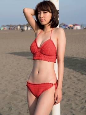 Marie Iide swimsuit gravure not blurred014