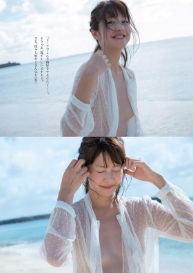 Anna Hongo Gravure Swimsuit ImagesI finally showed you the extreme exposure015