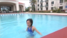 This is the first time in a long time that Ive swum in aswimming pool and Im exhausted015