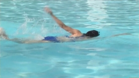 This is the first time in a long time that Ive swum in aswimming pool and Im exhausted025