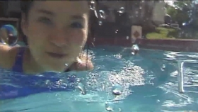 This is the first time in a long time that Ive swum in aswimming pool and Im exhausted055