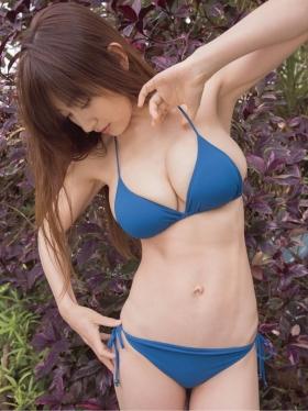 Yohko Kumada swimsuit gravure Take a look at her miraculous body f004