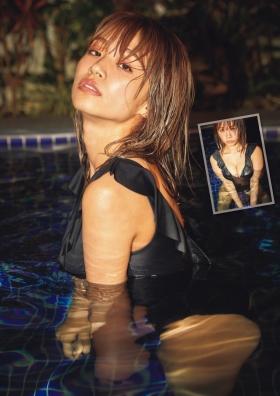 Nanohana Swimsuit gravure Polished beautiful body 2021003