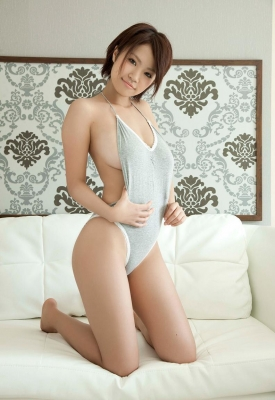 Nanohana Swimsuit gravure Polished beautiful body 018