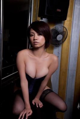 Nanohana Swimsuit gravure Polished beautiful body 023