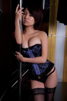 Nanohana Swimsuit gravure Polished beautiful body 039