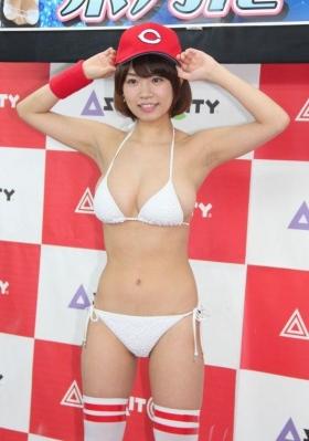 Nanohana Swimsuit gravure Polished beautiful body 059