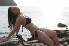 Saaya swimsuit gravure Healthy beautiful body008