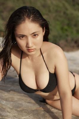 Saaya swimsuit gravure Healthy beautiful body014