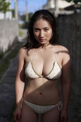 Saaya swimsuit gravure Healthy beautiful body016