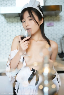 Yuka Kurai Cosplay Swimsuit-Style CostumeMaking Meals for Exposed Maids003