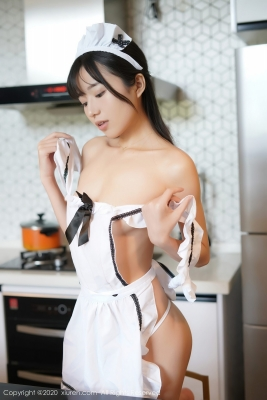 Yuka Kurai Cosplay Swimsuit-Style CostumeMaking Meals for Exposed Maids006